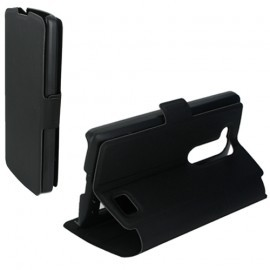 Etui portefeuille pour LG L-Fino Noir