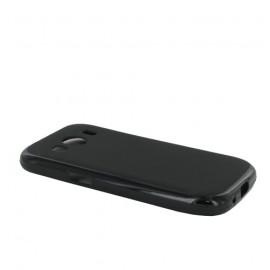 Coque siliconne Double Mat pour Samsung ACE 4 - Noir