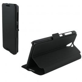 Etui portefeuille pour HTC Desire 620 - Noir