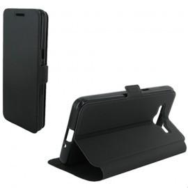 Etui Folio Stand Noir pour Samsung Galaxy Grand Prime