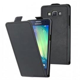 Etui housse à rabat vertical noir pour le Samsung Galaxy A5