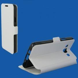 Etui portefeuille Blanc pour Samsung Galaxy A3