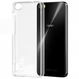Coque rigide transparente pour Huawei Honor 6 Plus