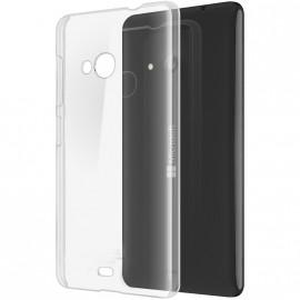 Coque rigide transparente pour Nokia Lumia 535