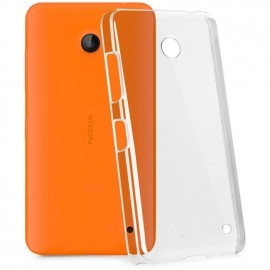 Coque rigide transparente pour Nokia Lumia 630