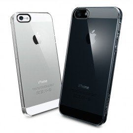 Coque rigide transparente pour iPhone 5
