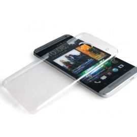 Coque rigide transparente pour HTC ONE