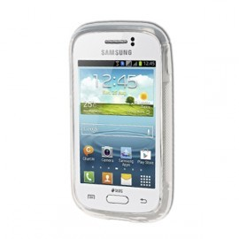 Coque rigide transparente pour Samsung Galaxy Young